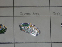 Yocona Area Council CSP Shaped Pin - Scout