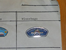 Winnebago Council CSP Shaped Pin - Scout