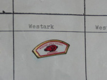 Westark Area Council CSP Shaped Pin - Scout