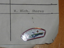 West Michigan Shores Council CSP Shaped Pin - Scout