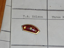 Thomas A. Edison Council CSP Shaped Pin - Scout