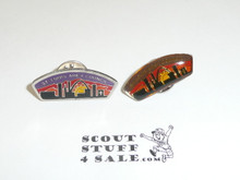 St. Louis Area Council 2 Different CSP Shaped Pins