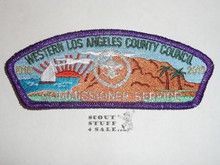 Western Los Angeles County Council sa40 COMMMISSIONER CSP #5, 2010 100th Anniv