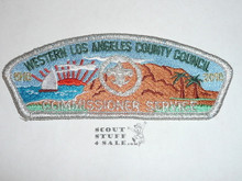 Western Los Angeles County Council sa36 COMMMISSIONER CSP #1, 2010 100th Anniv