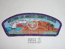 Western Los Angeles County Council sa32 COMMMISSIONER CSP #5