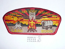 Los Angeles Area Council sa19 - 2000 Forest Lawn Scout Reservation STAFF