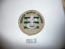 Senior Patrol Leader Patch - 1989 - current - (S9)