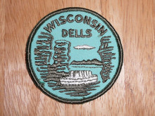 Wisconsin Dells - Old Souvenir Travel Patch