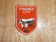 Virginia City NV - Old Souvenir Travel Patch