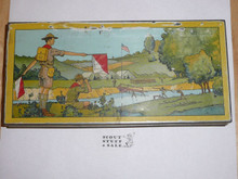 Vintage 1930's Boy Scouts of America Pencil Box by Wallace Pencil Company