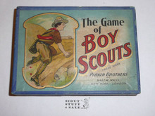 Vintage 1912 Parker Brothers, The Game of Boy Scouts Card Game, COMPLETE #4