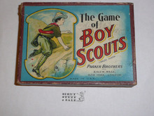 Vintage 1912 Parker Brothers, The Game of Boy Scouts Card Game, COMPLETE #3