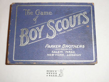 Vintage 1912 Parker Brothers, The Game of Boy Scouts Card Game, COMPLETE #2