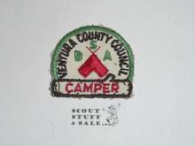 Ventura County Council Camper Patch- Boy Scout