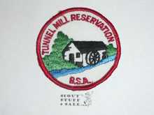 Tunnel Mill Reservation Camp Patch - Boy Scout