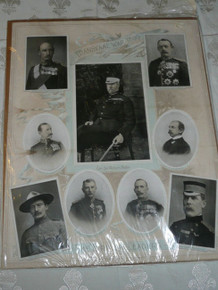 The British Leaders of the Transval War Color Print, Baden Powell, 1899