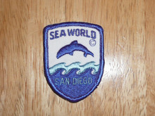 Sea World SD - Old Souvenir Travel Patch