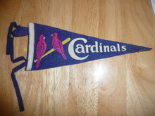 SCARCE 1937 Saint Louis Cardinals Felt Pennant