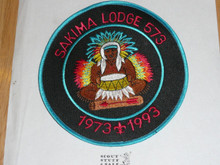 Order of the Arrow Lodge #573 Sakima Jacket Patch - Boy Scout