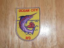 Ocean City MD  - Old Souvenir Travel Patch