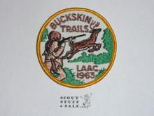 Los Angeles Area Council 1963 Buckskin Trails Patch - Boy Scout