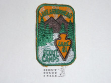 Los Angeles Area Council 1961 Lake Arrowhead Camp Patch - Boy Scout
