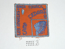 Los Angeles Area Council 1960's Camp Cedar Patch MINT - Boy Scout