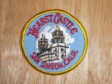 Hearst Castle CA - Old Souvenir Travel Patch