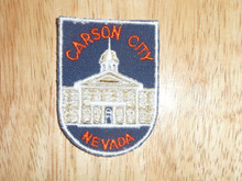Carson City NV - Old Souvenir Travel Patch