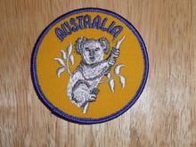 Australia Hoala Bear - Old Souvenir Travel Patch