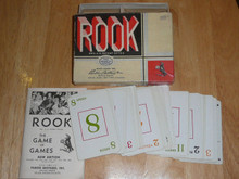 Antique Vintage 1943 Parker Brothers ROOK Complete Boxed Card Game Set Old Rare