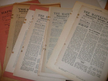 44 Issues of Mafeking Mail / Seige Slips, Newspaper of Baden Powell during Seige