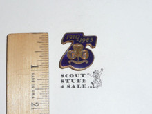 1985 75th Anniversary British Girl Guides Pin, FGPC35