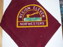 1960's Region Eleven Neckerchief - Boy Scout