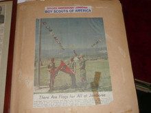 1960 Boy Scout Scrapbook of National Jamboree and tour 46 pages PACKED, PA13