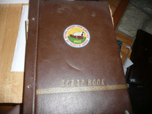 1953 Boy Scout National Jamboree Scrapbook 72 pages of pictures/clippings, PA5