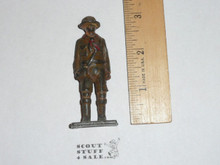 1920's Vintage Barclay Manoil Lead Toy Boy Scout Figure Standing Scout #3