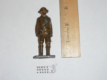 1920's Vintage Barclay Manoil Lead Toy Boy Scout Figure Standing Scout #2