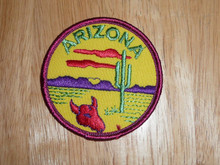 Arizona - Old Souvenir Travel Patch - See Others