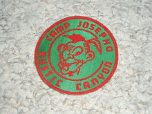 1950's Camp Josepho SATEEN Patch