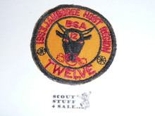 1953 National Jamboree Region 12 Host Patch