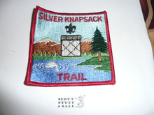 Silver Knapsack Trail High Adventure Hiking Award Patch