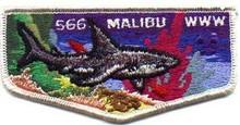 Malibu O.A. Lodge #566 2004 Flap Patch - Scout