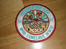 Section W4B 1987 O.A.Conference Patch - Scout
