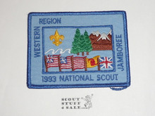 1993 National Jamboree Western Region Patch