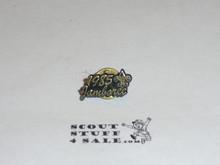 1985 National Jamboree Script Pin