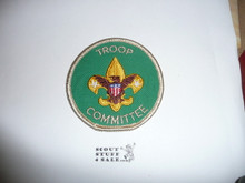 Troop Committee Patch (TC4), 1973-1989