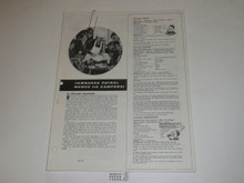 Topic Reprint, Jamboree Patrol Menus Boys' Life Single Topic Reprint #BL-71