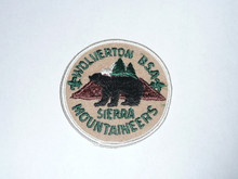 1980's Camp Wolverton Felt Patch - Southern California Scouting