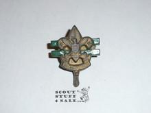Junior Leader Training Scout Emblem Torchy Neckerchief Slide